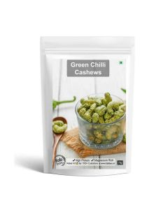 Green Chilli Cashews - Fabbox