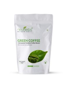 Organic Green Coffee Beans (200 gm) - Neuherbs