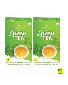 Lemon Flavour Green Tea (50 bags) - Neuherbs