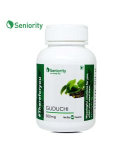 Guduchi Pure Extract 500 mg (60 Capsules) - Seniority