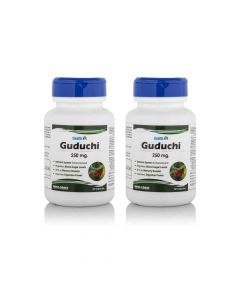 Guduchi 250mg (60 Capsules Pack Of 2) - Healthvit