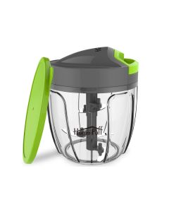 5 Blades Vegetable Chopper Cutter With Storage Lid - Home Puff
