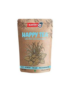 Happy Tea for Stress Relief (100gms) - Kayos Naturals