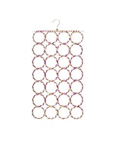 28 Slot Scarf Hanger (Multicolor) - House Of Quirk