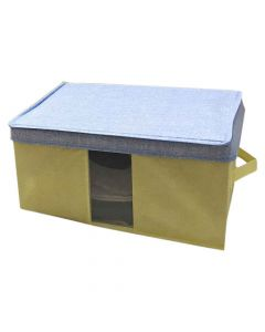 Foldable Fabric Storage Box Organizer - House of Quirk