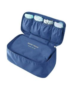 Multi Functional Travel Organizer Pouch (Dark Blue) - House Of Quirk