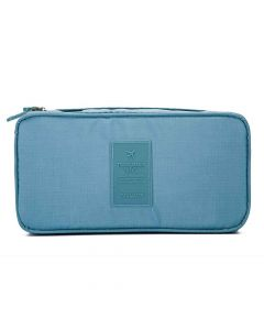 Polyester Storage Bag (Light Blue) - House Of Quirk
