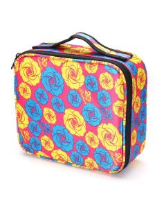 Cosmetic Storage Case With Adjustable Compartment - House Of Quirk