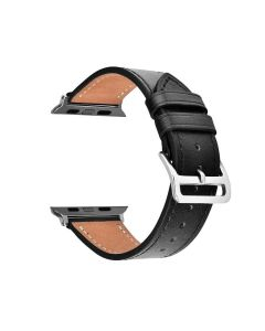 Genuine Leather 42 mm iWatch Strap (Black Thread) - House Of Quirk