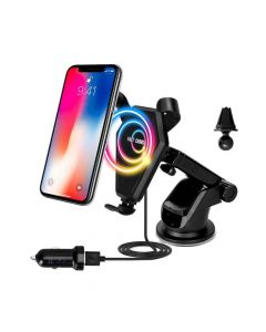 Wireless Car Mount Charger Black - House of Quirk