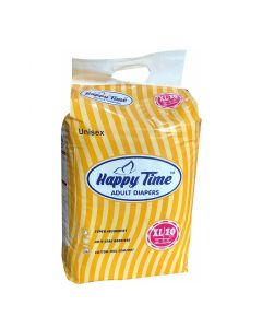 Adult Open Diaper (XL 48 - 68 inch) - Happy Time