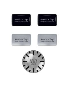 Immunity Booster & Radiation Protection Combo - Diamond Pack (1 Enviroglobe + 4 Mobile Chips) - Envirochip & Enviroglobe