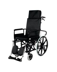 Invalid Reclining Wheelchair With Elevated Foot Rest - Vissco