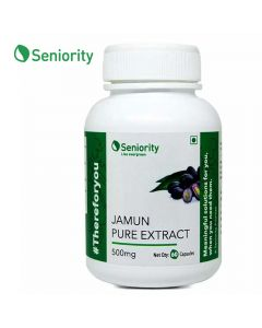 Jamun Pure Extract 500 mg (60 Capsules) - Seniority