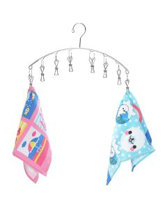 Stainless Steel Clip Hanger for Drying Small Clothes - Kawachi