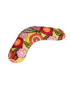 Neck and Shoulder Wrap for Hot and Cold Therapy with Wheat Grain (Multicolor Cover) - Kanyoga