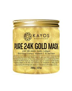 Pure 24K Gold Mask Facial Cream (200 gm) - Kayos