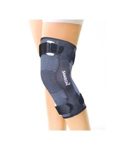 Hinged Knee Cap Deluxe Black - Samson