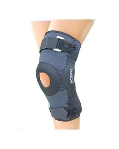 Hinged Knee Cap With Open Patella Gel Pad Deluxe - Samson