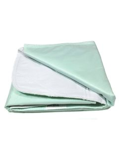 Re-Usable Twill Underpads For Beds (Green) - Kosmocare