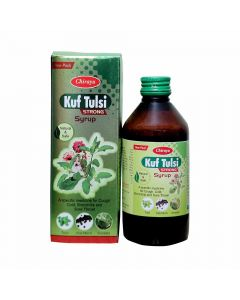 Kuf Tulsi Syrup Strong (200 ml) - Chirayu Pharmaceuticals