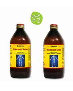 Maharasnadi Kadha (Pack of 2 - 450 ml Each) - Lama