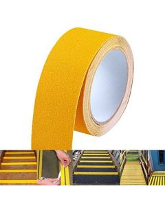 Aluminium Oxide Anti Slip Tape for Slippery Surfaces (Yellow) - Lifekrafts