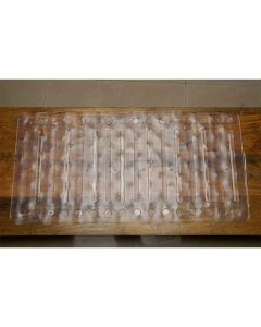 Nylon Shower Mat with 100 Suction Cups (Transparent - 80 x 40 cm) - Lifekrafts