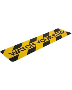 Anti Slip Watch Your Step Printed Strip (15 x 60 cm) - Lifekrafts