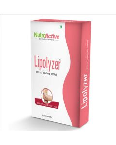 Lipolyzer - Hips and Thighs Tablet For Weight Management (30 Tablets) - NutroActive