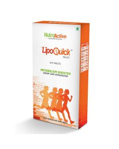 Lipoquick -  Bullet Fat Burner - 30 Tablets NutroActive