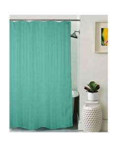 Unidyed Polyester Shower Curtain With 12 Plastic Eyelets - Lushomes