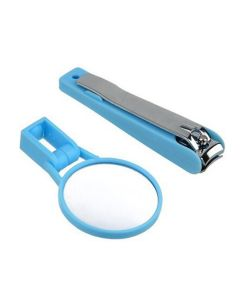 Nail Clipper with Detachable Magnifying Glass