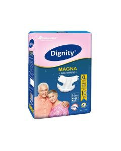 Magna Adult Diapers (Extra Large) - Dignity