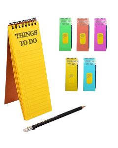 Magnetic Fridge Notepad - To Do (Assorted Color)