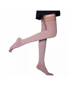 Microfiber Compression Stockings For Varicose Veins Class 1 - Thigh Length - Sorgen