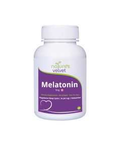 Melatonin Softgels for Sleep 5mg (60 Softgels) - Natures Velvet