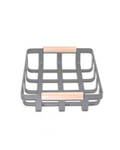 Metal Storage Basket (WS 10052) - Waabi Saabi