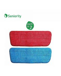 Replacement Microfibre Pads For Spray Mop (Pack of 2) - Seniority