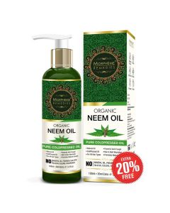 ColdPressed and Undiluted Pure Organic Neem Oil - Morpheme Remedies