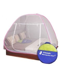 Foldable Mosquito Net For Double Size Bed - Classic Mosquito Net