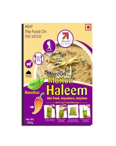 Mutton Haleem (Boneless) with Heater Bag - Non veg (250 gm) - Move On