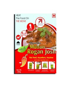 Mutton Rogan Josh with Heater Bag - Non veg (250 gm) - Move On