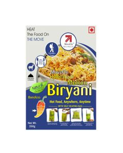 Mutton Biryani (Boneless) with Heater Bag - Non veg (250 gm) - Move On