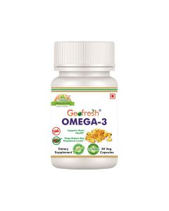 Natural O Plus Omega 3 Capsules (60 Capsules) - Geofresh