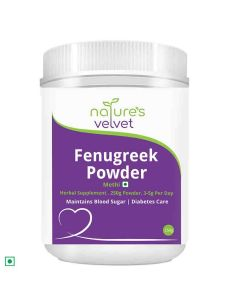Fenugreek Methi Powder (250 gm - Pack of 1) - Natures Velvet