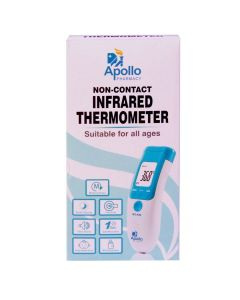 Non-Contact Infrared Thermometer - Apollo Pharmacy