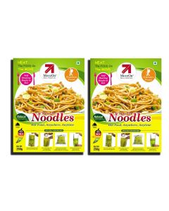 Noodles with Heater Bag - Veg (2 x 250 gm) - Move On