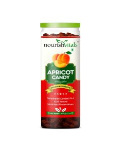Apricot Dried Fruit - Dehydrated Fruits (200 gm) - Nourish Vitals
