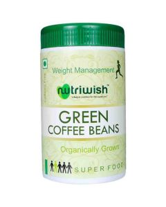 Coffee Beans - Green (250 gm) - Nutriwish